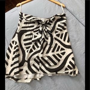 Beautiful strapless DVF cotton summer top